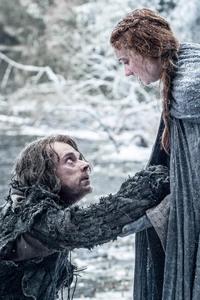 Theon Greyjoy And Sansa Stark