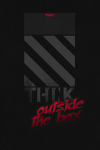 1440x2960 Think Outside Box Minimal 4k