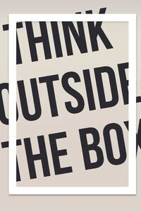 2160x3840 Think Outside The Box