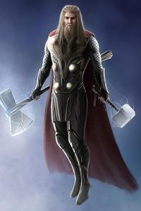720x1280 Thor 2020 4k