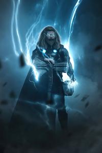 1440x2560 Thor 2020 Artwork