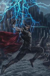 Thor 4k Digital Art