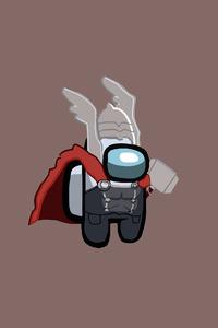 320x480 Thor Among Us Minimal 5k