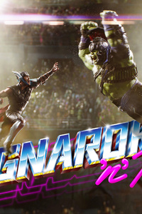 Thor And Hulk In Thor Rangnarok 4k 2017
