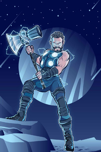 Thor And Stormbreaker