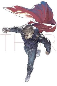 Thor Artwork For Avengers Infinity War