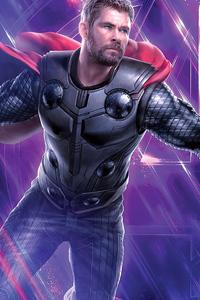720x1280 Thor Avengers 4k