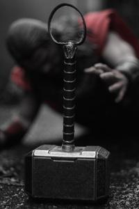 1080x2160 Thor Avengers 5k Hammer