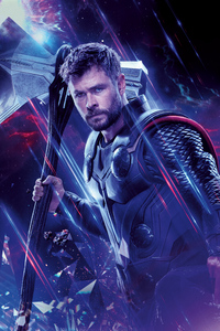 1080x2160 Thor Avengers End Game 8k