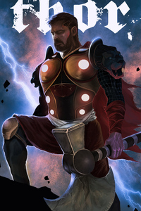 Thor Avengers Endgame 4k Artwork