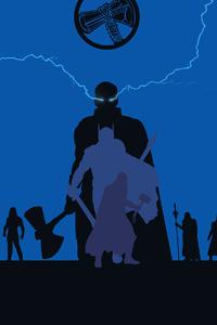 Thor Avengers Endgame 4k Minimalism