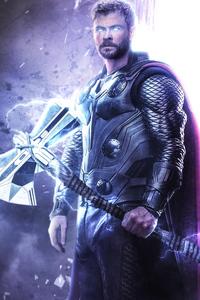 240x320 Thor Avengers Endgame