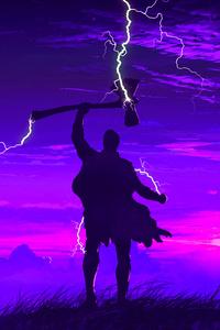 Thor Avengers Endgame Art