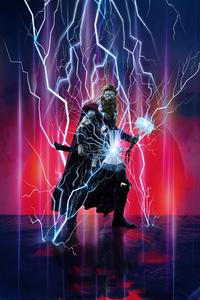 Thor Avengers Endgame Artwork 2019