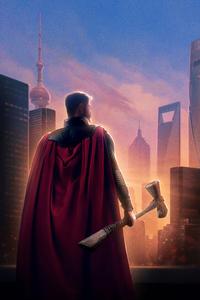 Thor Avengers Endgame Chinese Poster