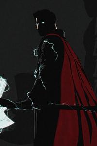 320x568 Thor Avengers Endgame Minimal 4k