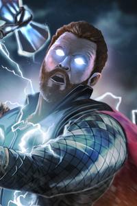 Thor Avengers Infinity War Art 4k