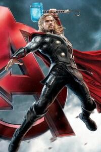 1280x2120 Thor Avengers
