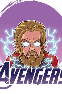 1080x2280 Thor Endgame