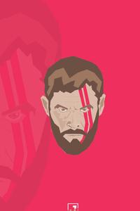 Thor Face Minimalism