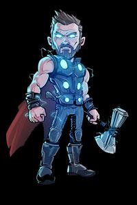 Thor Glowing Artwork
