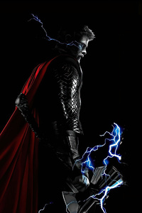 720x1280 Thor God Of Thunder 2020