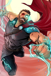 Thor God Of Thunder Fan Art