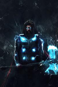 720x1280 Thor Hammer Beard