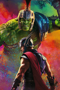 Thor Hulk In Thor Ragnarok