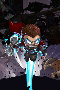1280x2120 Thor Little Art