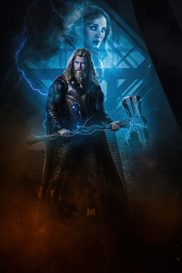 1440x2560 Thor Love And The Thunder 4k