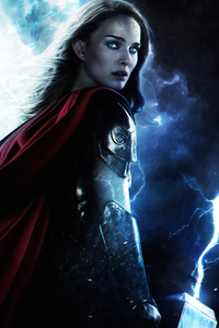 1080x2160 Thor Love And Thunder 2021 Jane Foster