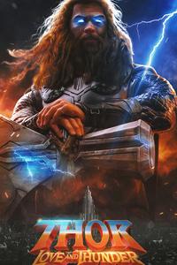 1080x1920 Thor Love And Thunder 2021 Movie