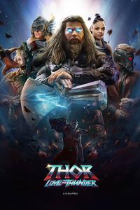 640x960 Thor Love And Thunder Movie 2022