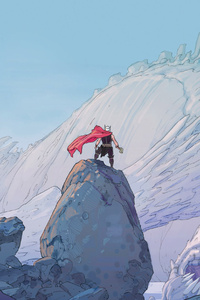 Thor Marvel Comic Artwork