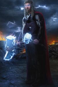 1280x2120 Thor New 4k