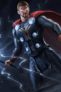 480x800 Thor New Digital Art