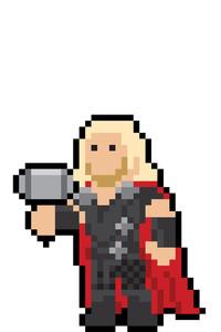 Thor Pixel Art