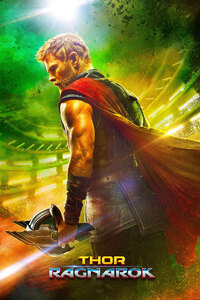320x480 Thor Ragnarok 2017 5k