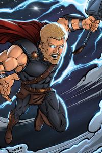 1440x2560 Thor Ragnarok 4k Artwork