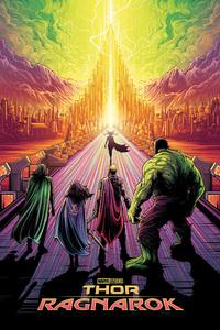 Thor Ragnarok Artwork