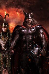 Thor Ragnarok Fan Poster