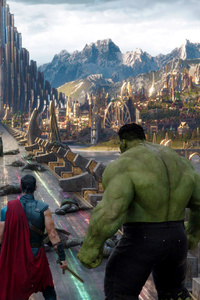 320x480 Thor Ragnarok Movie 2018