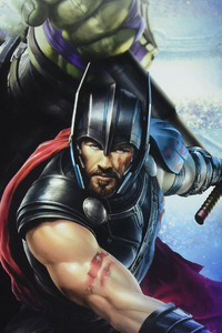 Thor Ragnarok Movie New Artwork