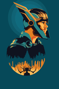 1080x2280 Thor Ragnarok SuperHero 4k