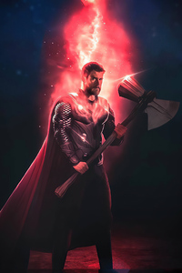 2160x3840 Thor Reality Stone 4k