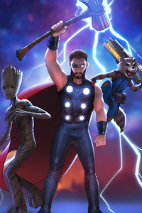 1440x2960 Thor Team 4k