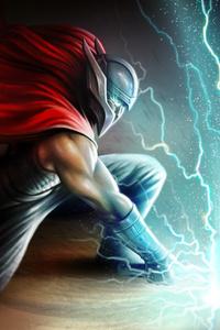 Thor Thunder Hammer Art