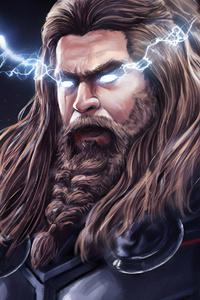 1280x2120 Thor Thunder Lighting 4k