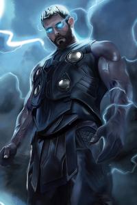 720x1280 Thor Thunder Man
